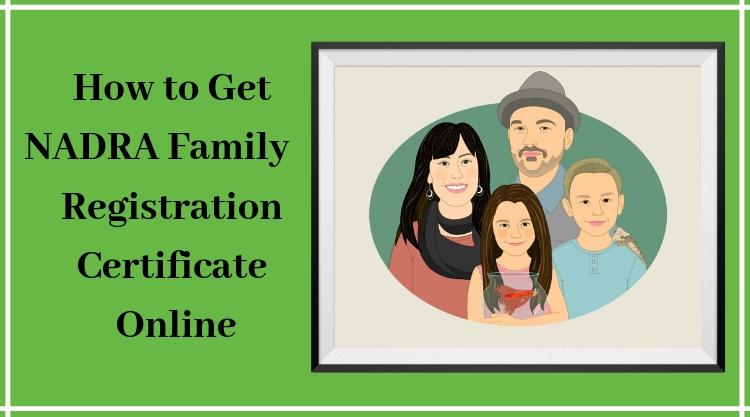 Nadra-Family-Registration-Certificate-Online