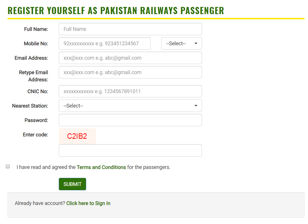 Pakistan Railway Online Booking - Complete Guide to Book E-Tickets