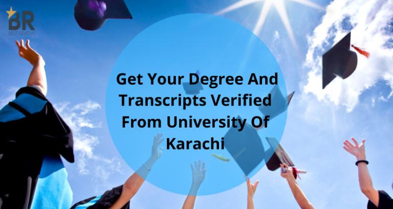 karachi university degree verification
