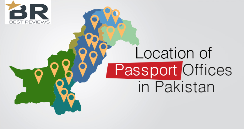 Location of Passport Offices in Pakistan