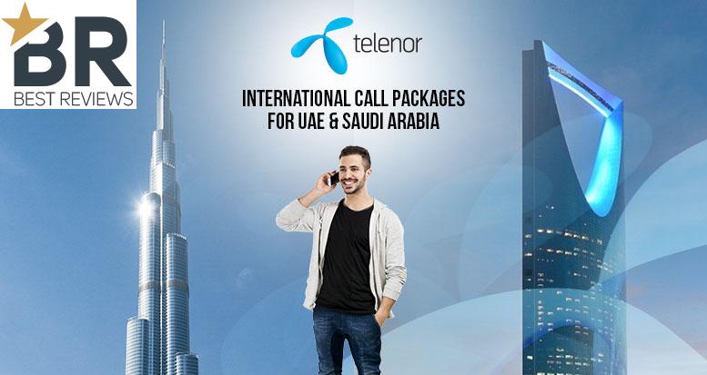 Telenor Djuice International Call Packages for UAE & Saudi Arabia