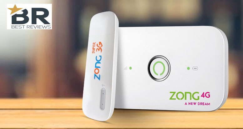 Zong 3G & 4G Internet Device & Packages